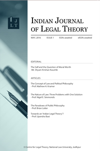 Indian Journal of Legal Theory