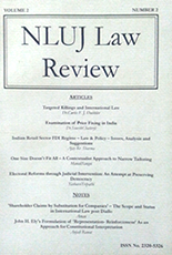NLUJ Law Review